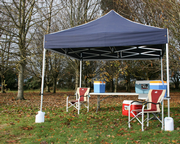 3m x 3m Commercial Pop Up Gazebo (Inc: Top + Frame Only)